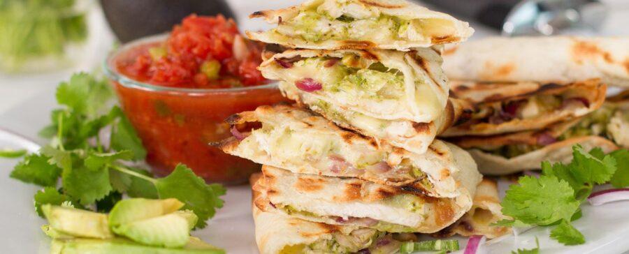 Quesadilla recept  vegán módra