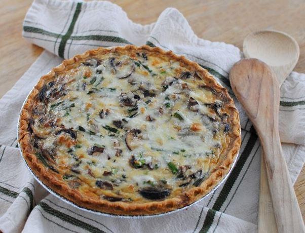 Provence-i gombás pite